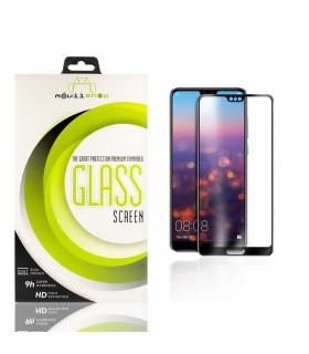 Cristal templado Full Glue 11D Premium Huawei P20 Pro Protector de Pantalla Curvo Negro