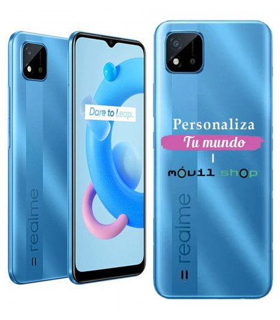 Personaliza tu Funda [Realme C20] de Silicona Flexible Transparente Carcasa Case Cover de Gel TPU para Smartphone