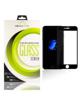 Cristal templado Full Glue 11D Premium iPhone SE 2020 Protector de Pantalla Curvo Negro