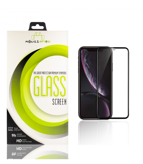 Cristal templado Full Glue 11D Premium iPhone 11 (X/Xs) Pro Protector de Pantalla Curvo Negro