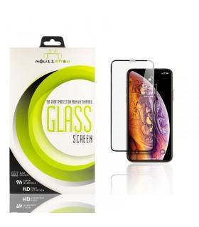 Cristal templado Full Glue 11D Premium iPhone Xr Protector de Pantalla Curvo Negro