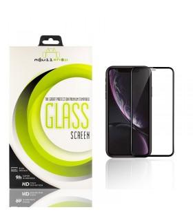 Cristal templado Full Glue 11D Premium iPhone X / Xs Protector de Pantalla Curvo Negro