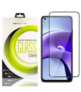 Cristal templado Full Glue Premium Xiaomi Redmi Note 9T 5G Protector de Pantalla Curvo Negro