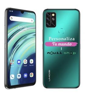 Personaliza tu Funda [Umidigi A9 Pro] de Silicona Flexible Transparente Carcasa Case Cover de Gel TPU para Smartphone