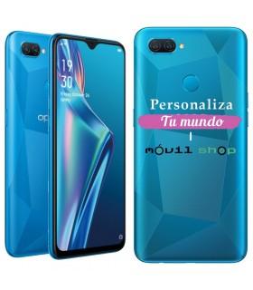 Personaliza tu Funda [OPPO A12] de Silicona Flexible Transparente Carcasa Case Cover de Gel TPU para Smartphone