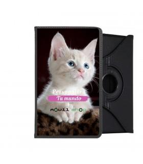"""Funda de Tablet iPad New 10.2"""" Giratorio 360 Personalizado con la foto imagen que tu quieras"""