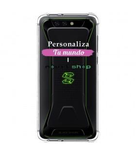 Personaliza tu Funda [Black Shark 1] de Silicona Flexible Transparente Carcasa Case Cover de Gel TPU para Smartphone