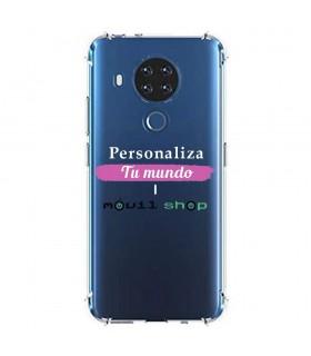 Funda Personalizada [Nokia 7.3] Esquina Reforzada Silicona 1.5mm de grosor Flexible Transparente de Gel TPU