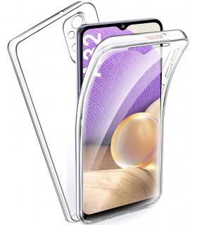 Funda 360 [Samsung Galaxy A32 5G] PC + TPU Carcasa Doble Cara 360 de Silicona Delantera + Trasera Rigido Reforzada