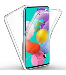 Funda 360 [Samsung Galaxy A72 5G] PC + TPU Carcasa Doble Cara 360 de Silicona Delantera + Trasera Rigido Reforzada