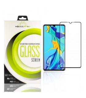 Cristal templado Full Glue 11D Premium Huawei P30 Protector de Pantalla Curvo Negro