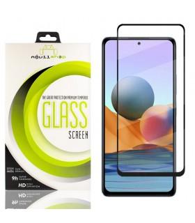Cristal templado Full Glue Premium Xiaomi Redmi Note 10 Protector de Pantalla Curvo Negro