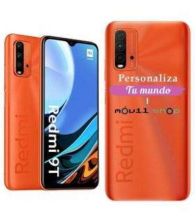 Personaliza tu Funda [Xiaomi Redmi 9T] de Silicona Flexible Transparente Carcasa Case Cover de Gel TPU para Smartphone