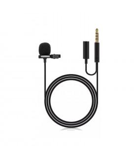 Cable Audio Jack con clip y micrófono