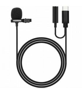 Cable tipo C  con clip y micrófono