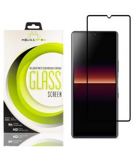 Cristal templado Full Glue Premium Sony Xperia L4 Protector de Pantalla Curvo Negro