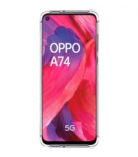 Funda Antigolpe OPPO A74 5G Gel Transparente con esquinas Reforzadas
