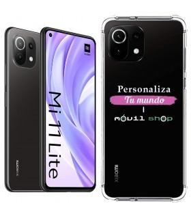 Funda Personalizada [Xiaomi Mi 11 Lite] Esquina Reforzada Silicona 1.5mm de grosor Flexible Transparente de Gel TPU