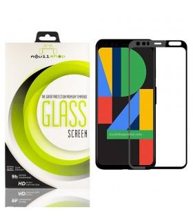 Cristal templado Full Glue Premium Google Pixel 4 Protector de Pantalla Curvo Negro