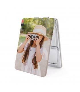 Espejo Personalizado con forma rectangular |impresión a una cara | medida 8.5x6 cm|