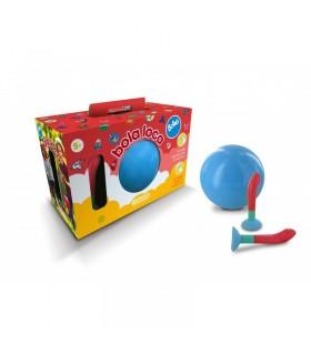 Pelota Bola Loca Boing [ Azul ]  Juguete de Aire Libre. Consiste en atrapar y lanzar la Pelota de mil Formas - COMANSI