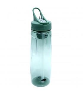 Botella de agua reutilizable con pajita | 750 ml