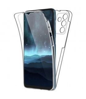Funda 360 [Samsung Galaxy A82 5G] PC + TPU Carcasa Doble Cara 360 de Silicona Delantera + Trasera Rigido Reforzada