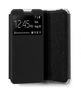 Funda Libro [TCL 20 5G] Negro con Silicona TPU Resistente para Smartphone