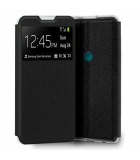 Funda Libro [TCL 20 SE] Negro con Silicona TPU Resistente para Smartphone