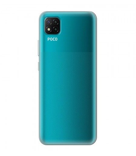 Funda Silicona Xiaomi POCO C3 Transparente Ultrafina