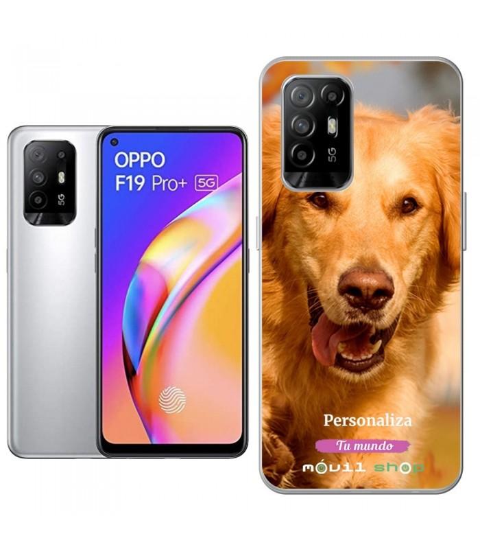 Personaliza tu Funda [OPPO F19 Pro Plus] de Silicona Flexible Transparente Carcasa Case Cover de Gel TPU para Smartphone