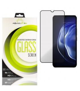 Cristal templado Full Glue Premium Vivo V21 5G Protector de Pantalla Curvo Negro