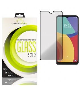 Cristal templado Full Glue 11D Premium Alcatel 1S 2021 Protector de Pantalla Curvo Negro
