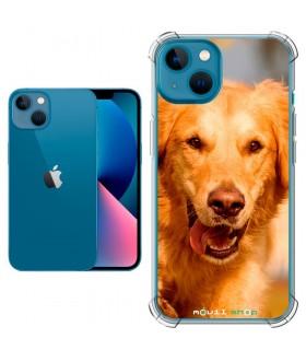 Funda Personalizada [iPhone 13] Esquina Reforzada Silicona 1.5mm de grosor Flexible Transparente de Gel TPU