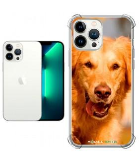Funda Personalizada [iPhone 13 Pro] Esquina Reforzada Silicona 1.5mm de grosor Flexible Transparente de Gel TPU