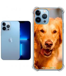 Funda Personalizada [iPhone 13 Pro Max] Esquina Reforzada Silicona 1.5mm de grosor Flexible Transparente de Gel TPU