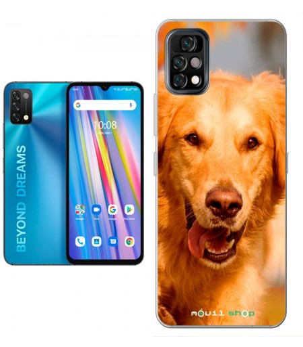 Personaliza tu Funda [Umidigi A11] de Silicona Flexible Transparente Carcasa Case Cover de Gel TPU Smartphone