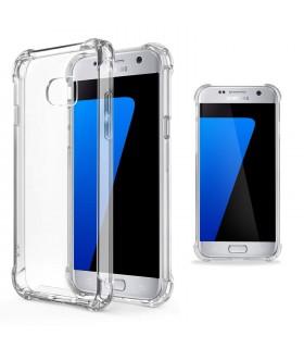 Funda Antigolpe Samsung Galaxy S7 Gel Transparente con esquinas Reforzadas