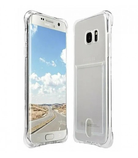 Funda Antigolpe Samsung Galaxy S7 Edge Gel Transparente con esquinas Reforzadas