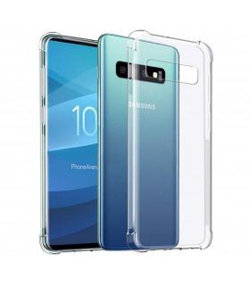 Funda Antigolpe Samsung Galaxy S10 Plus Gel Transparente con esquinas Reforzadas