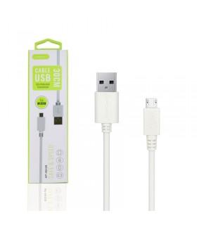 Cable de Datos y Carga APOKIN USB 2.0 a micro USB Carga Rápida 30cm