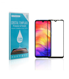 Cristal templado Full Glue 11D Premium Xiaomi Mi 9 SE Protector de Pantalla Curvo Negro