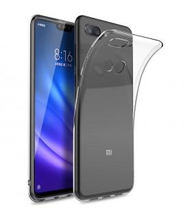 Funda Silicona Xiaomi MI 8 Lite Transparente Ultrafina