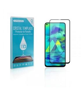 Cristal templado Full Glue 11D Premium Samsung Galaxy A60 Protector de Pantalla Curvo Negro