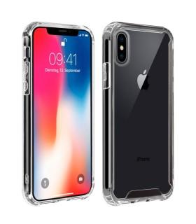 Funda iPhone X / XS Transparente Antigolpe Premium