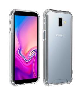 Funda Samsung Galaxy J6 Plus Transparente Antigolpe Premium
